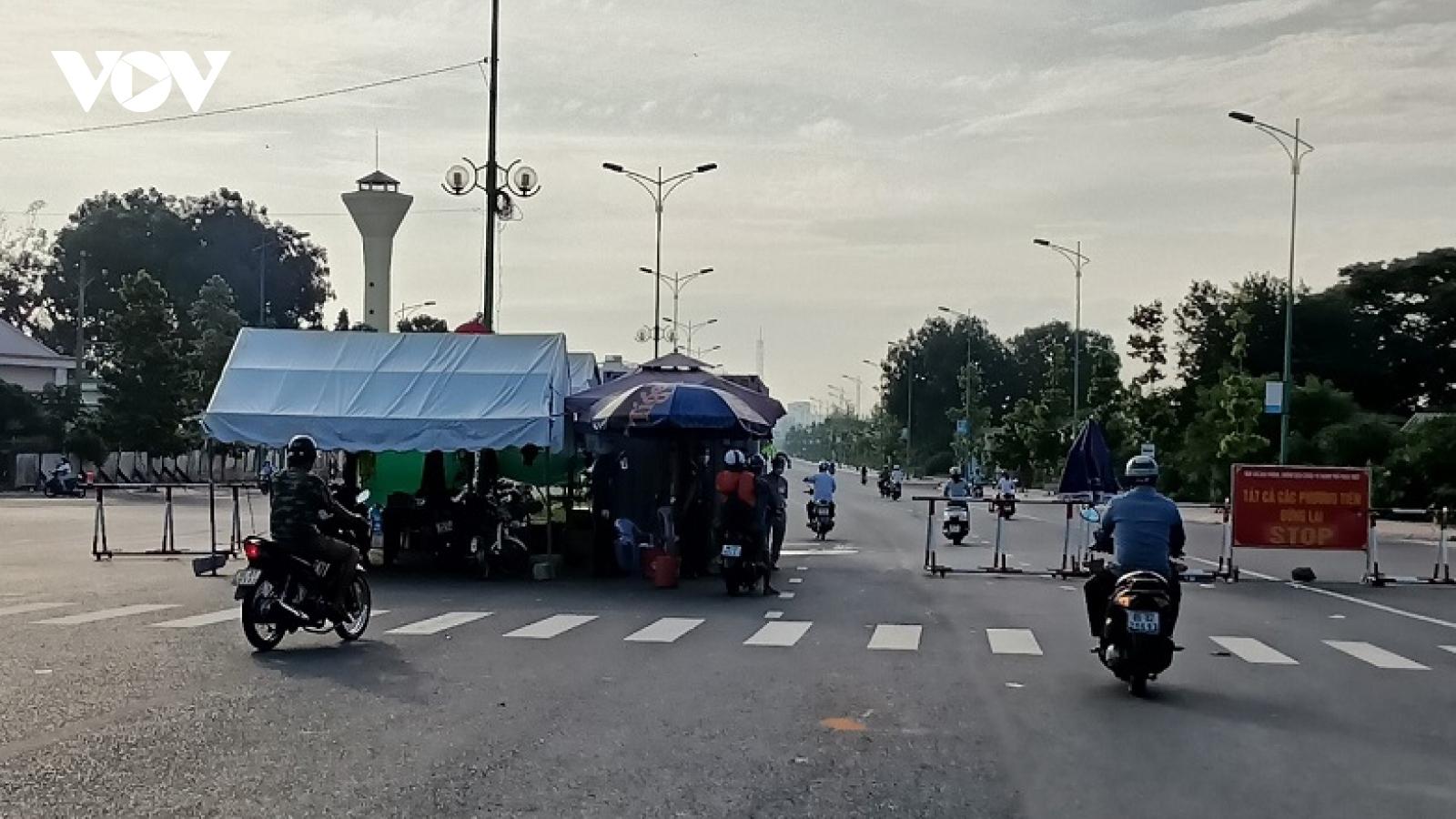 Bình Thuận tăng mức độgiãn cách xã hội để kiểm soát dịch tại Phan Thiết