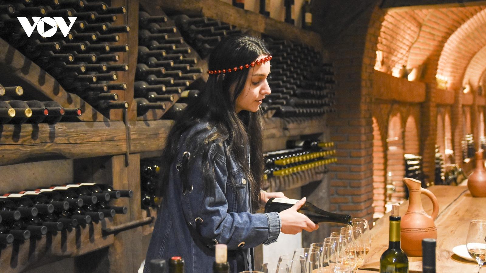 Ghé thăm Georgia - quê hương của rượu vang