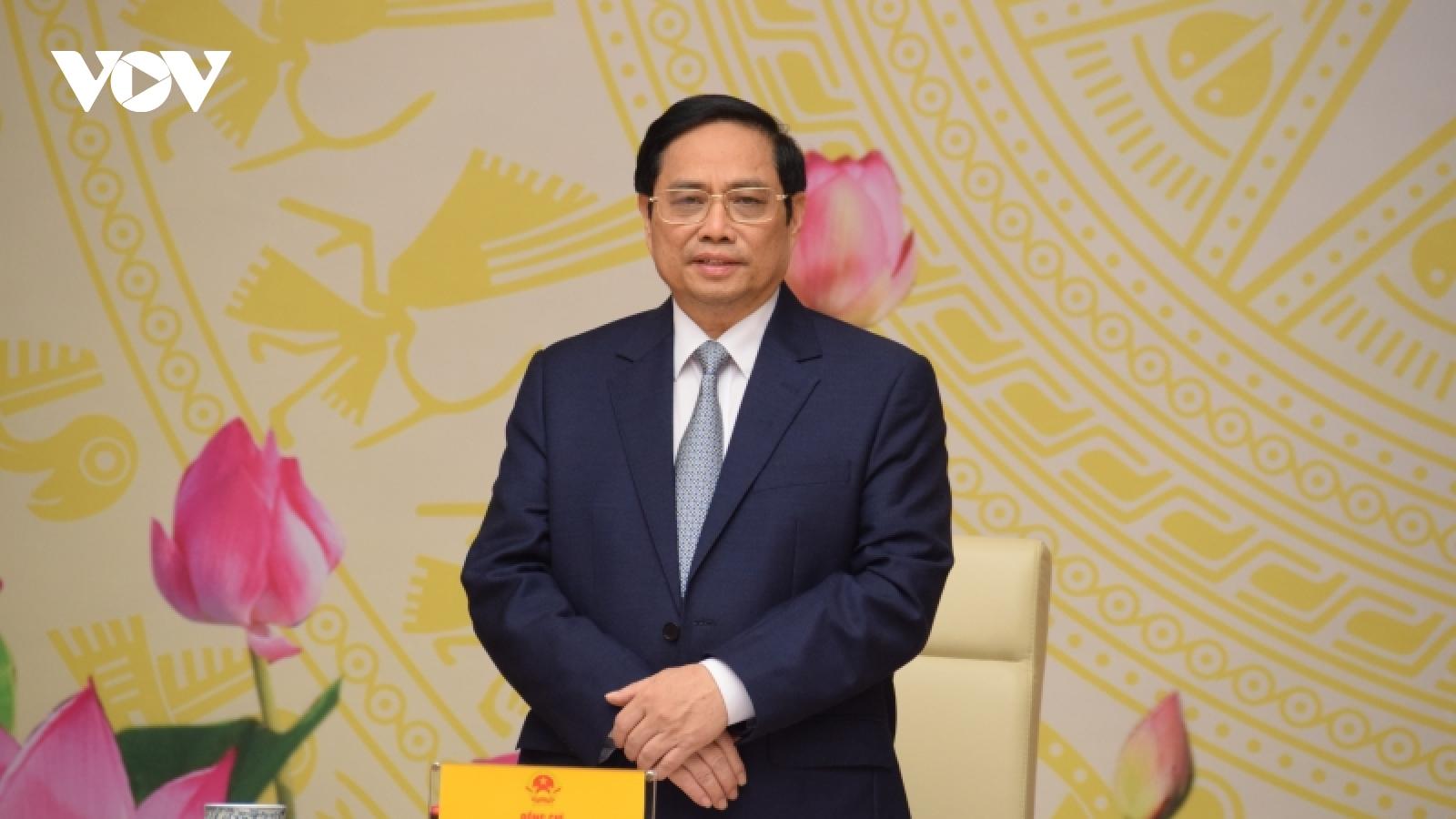 Thủ tướng mong muốn doanh nhân Việt Nam viết tiếp trang sử vẻ vang