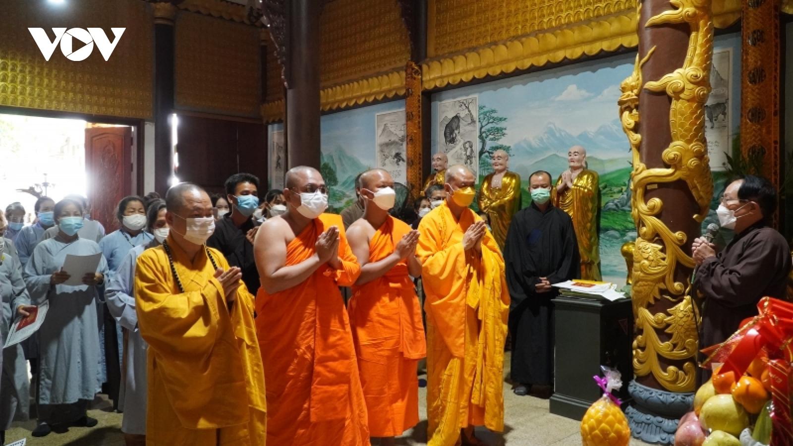 Chùa Phật tích Vientiane (Lào) tổ chức Lễ truy điệu Đại lão hòa thượng Thích Phổ Tuệ