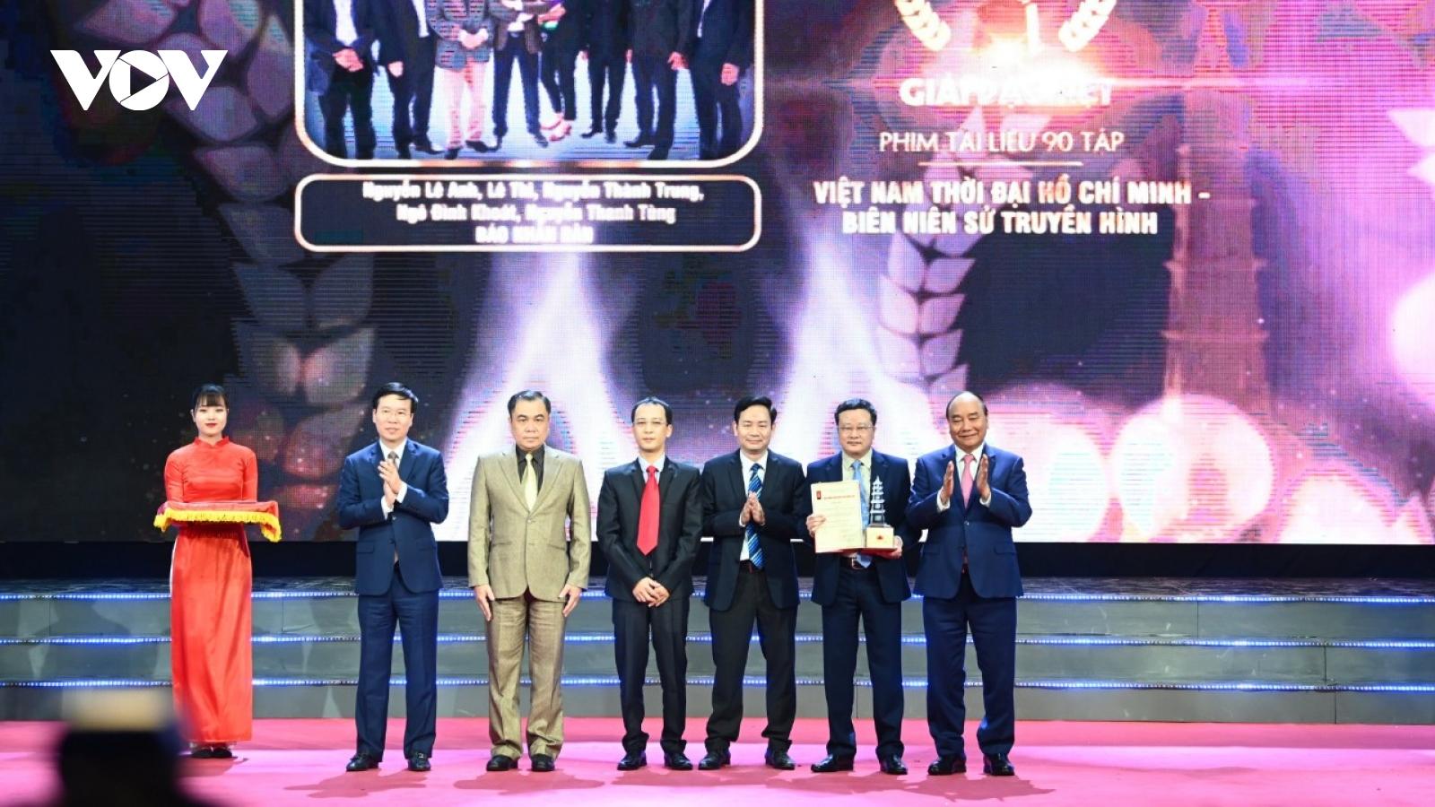 VOV đoạt 5 giải Báo chí Quốc gia lần thứ 15 - năm 2020
