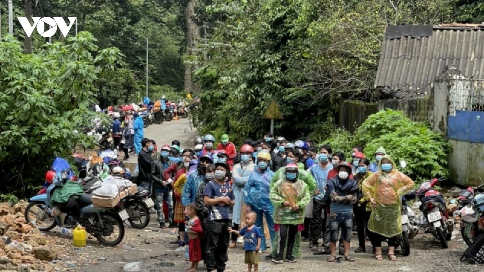 Sơn La ghi nhận 20 ca mắc Covid-19 trong số công dân từ miền Nam về