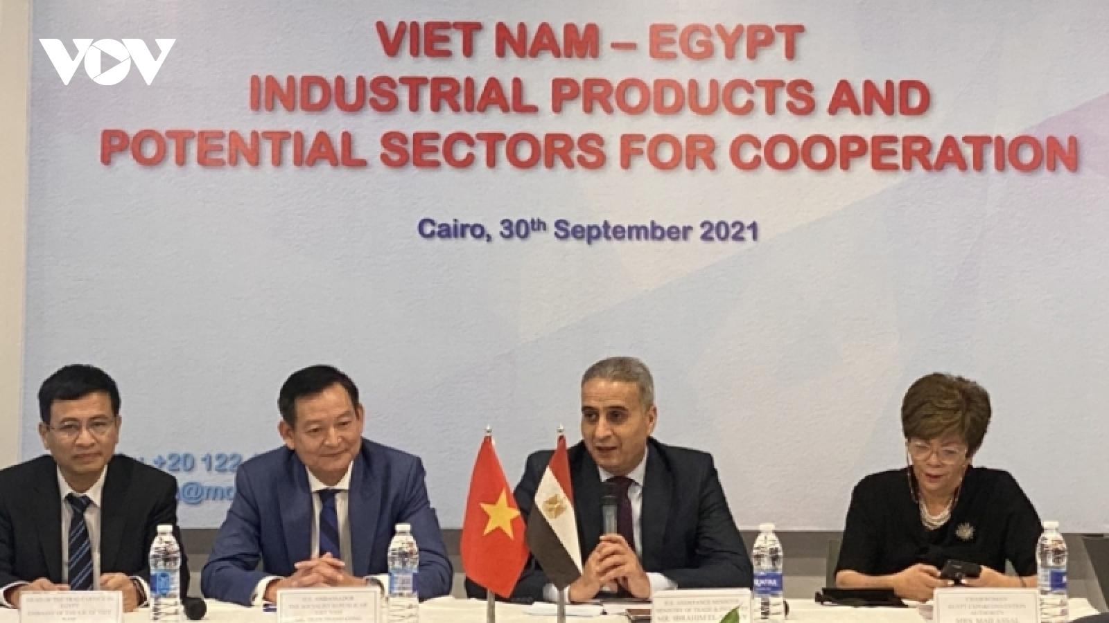Việt Nam tham gia Hội chợ Quốc tế Cairo lần thứ 54