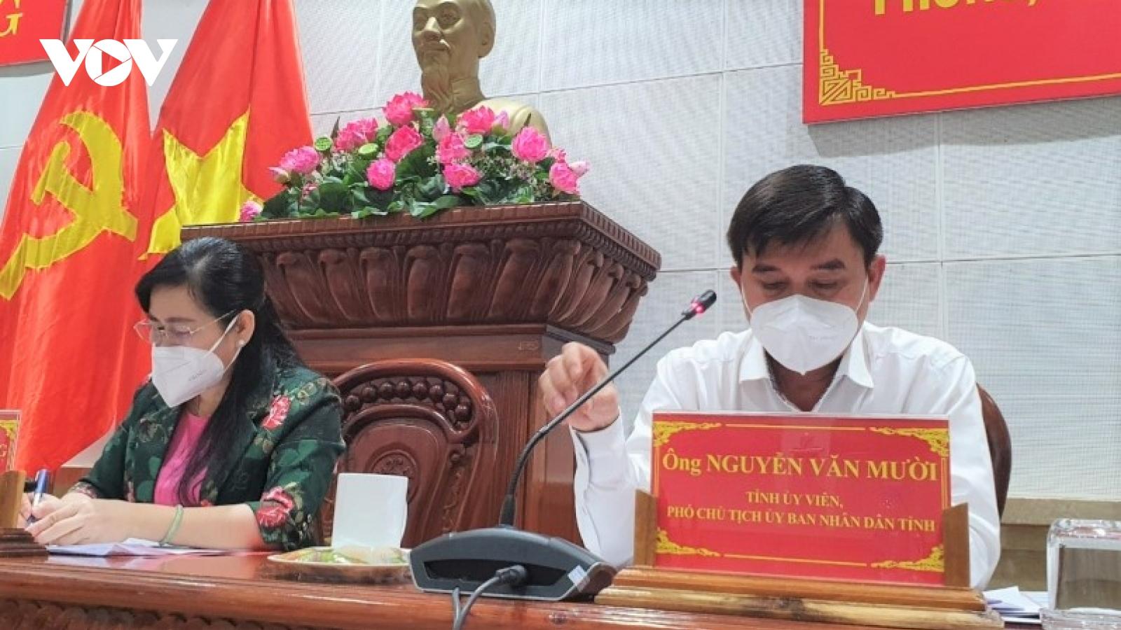 Tiền Giang phấn đấu đến hết tháng 11, 80% người từ 18 tuổi trở lên được tiêm vaccine
