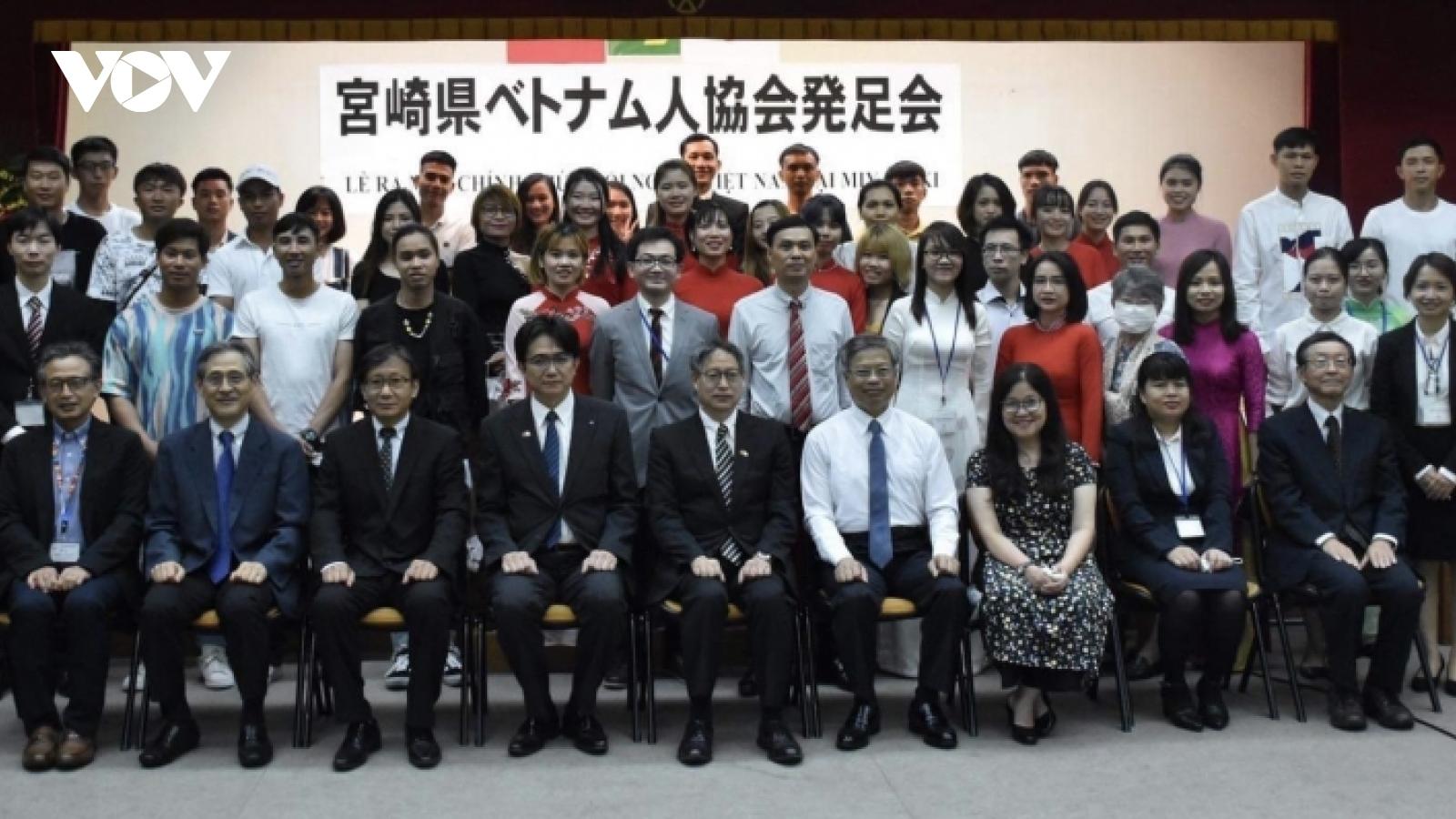 Thành lập Hội người Việt Nam ở Miyazaki, Nhật Bản