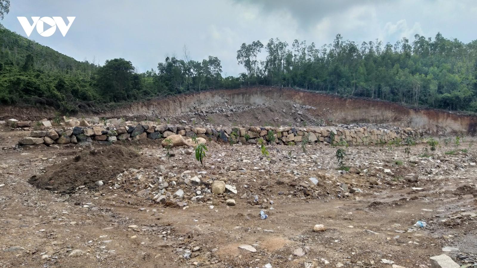 Ngăn chặn tình trạng khoét núi phân lô bán nền ở Khánh Hòa