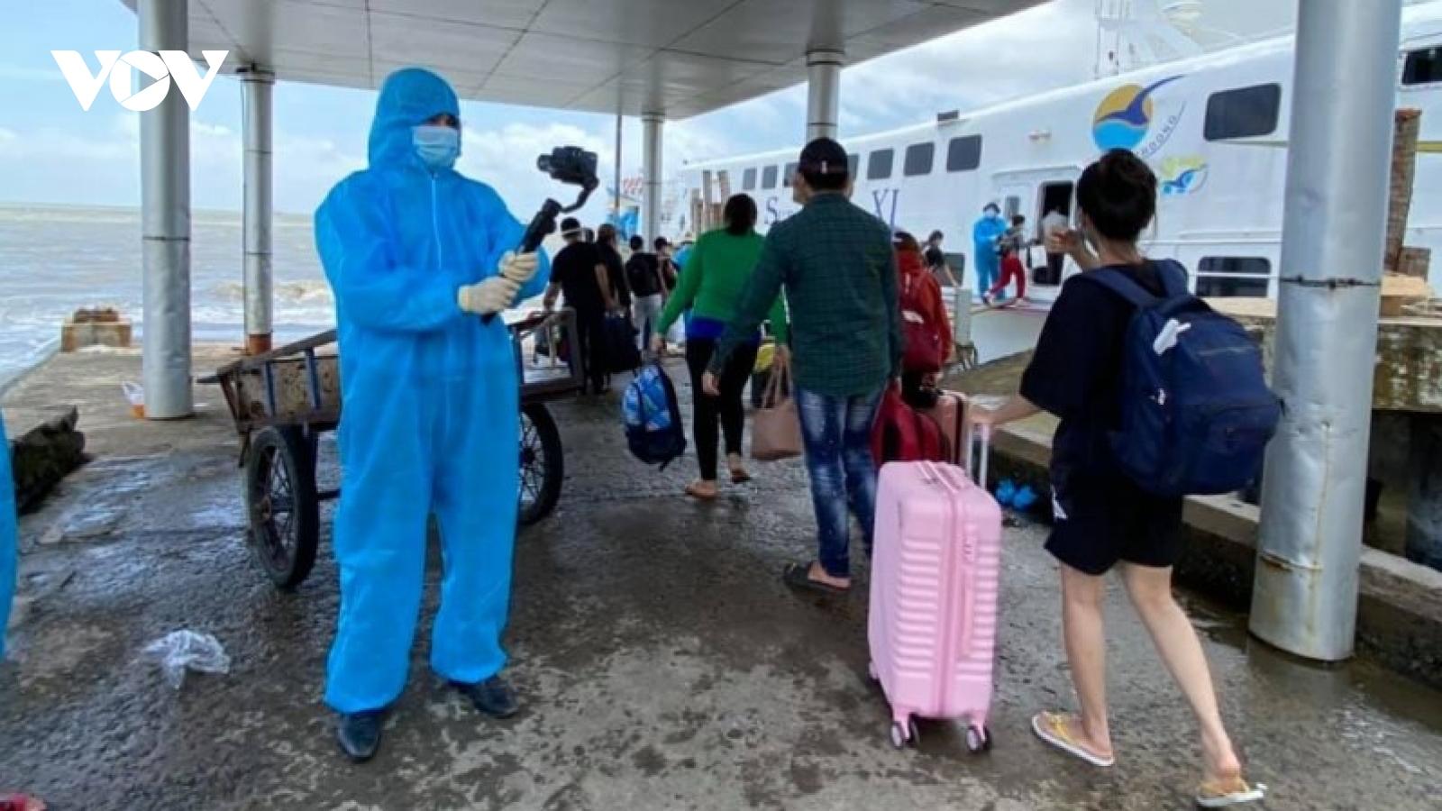 Kiên Giang chính thức hoạt động lại vận tải hành khách nội tỉnh
