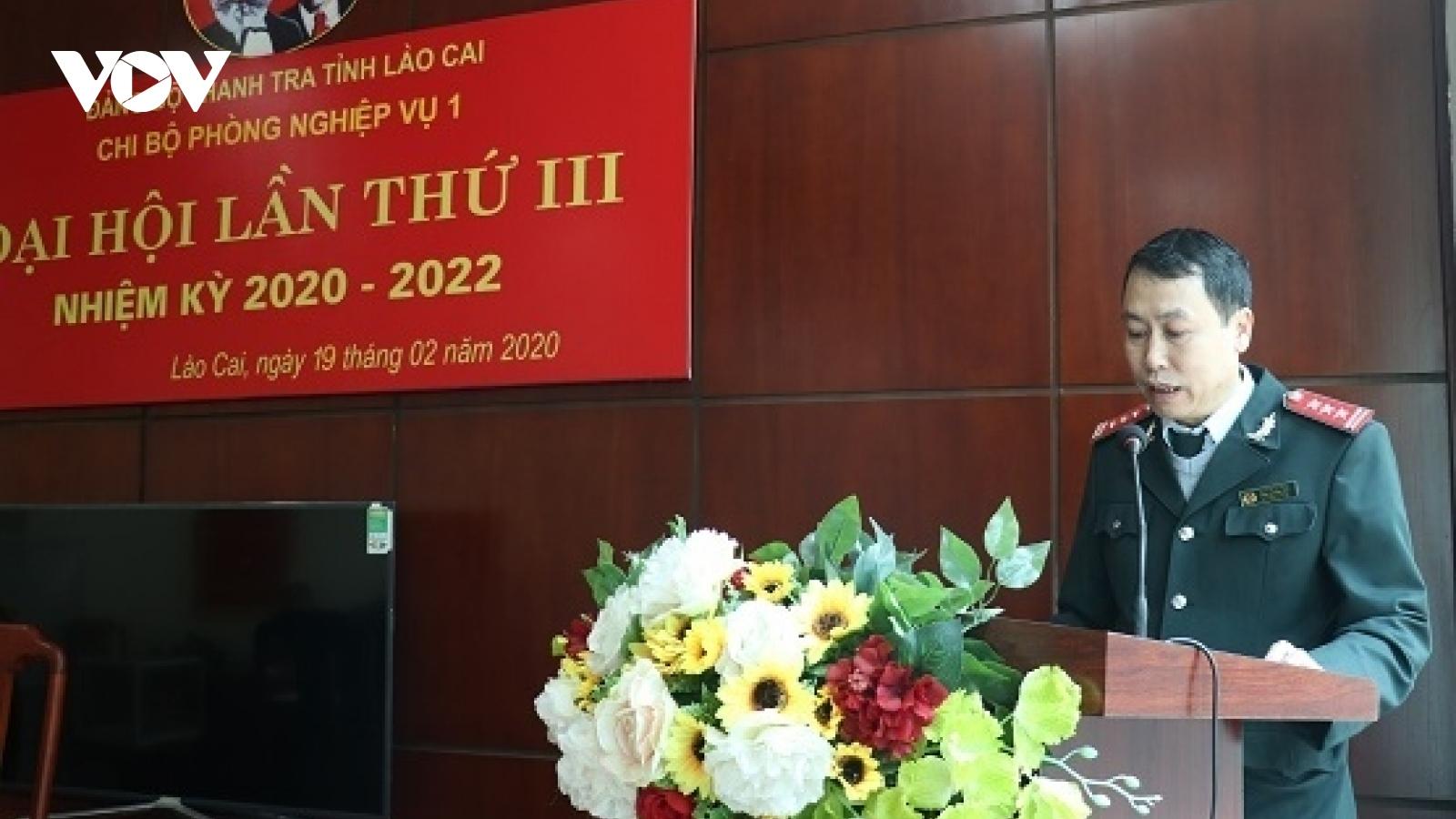 Tạm đình chỉ công tác Chánh Thanh tra tỉnh Lào Cai