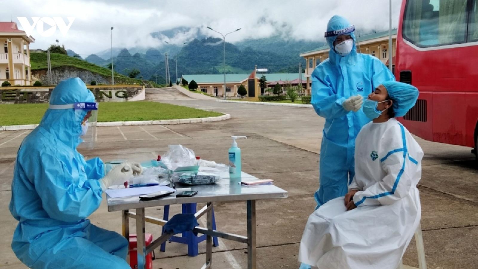 Lai Châu ghi nhận bệnh nhân thứ 7 từ Bình Dương về mắc Covid-19