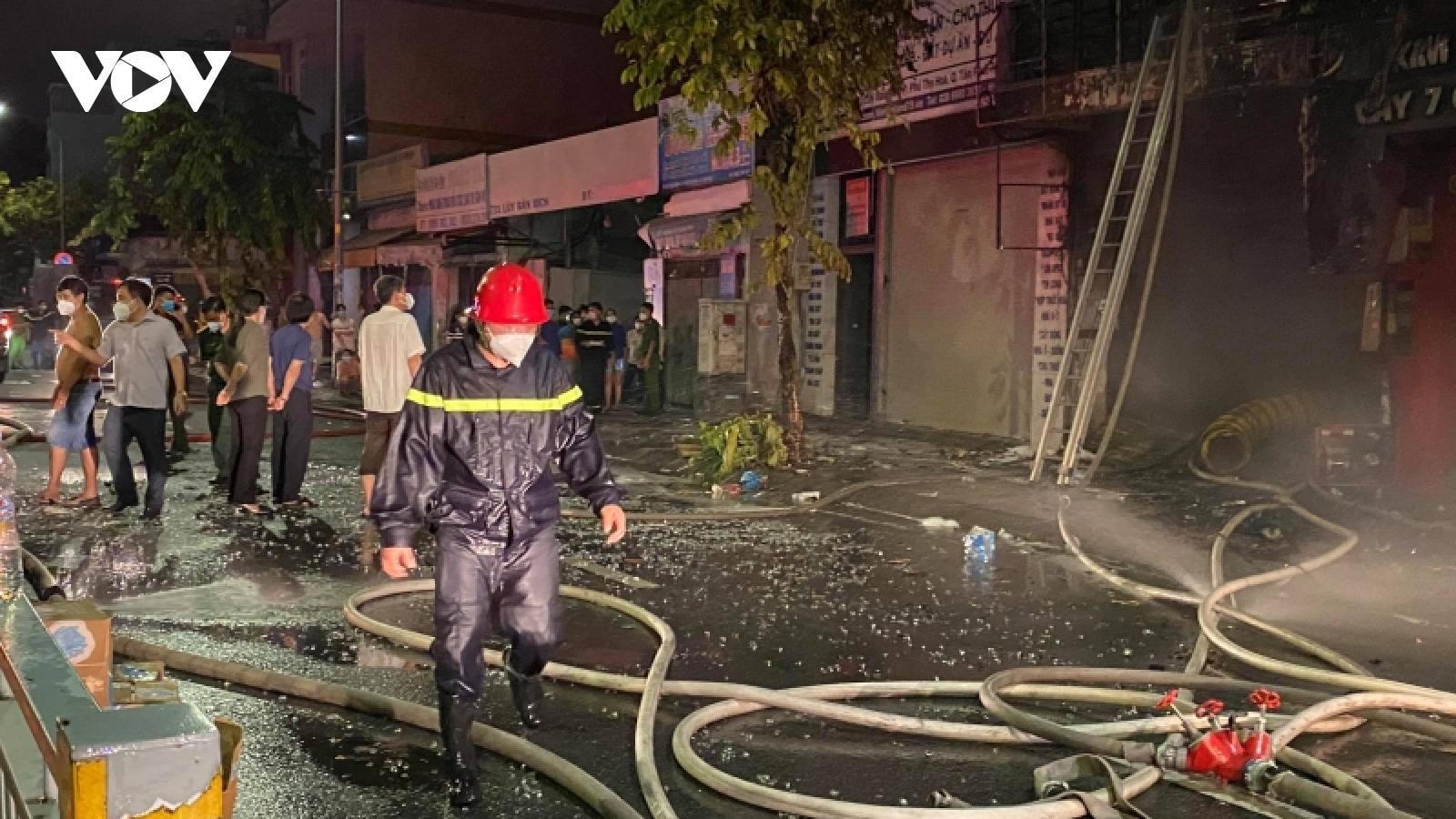 4 người thoát nạn, 1 người tử vong trong vụ cháy nhà ở TP.HCM