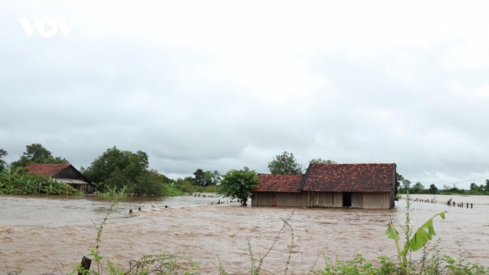 Đắk Lắk tập trung khắc phục hậu quả của mưa lũ