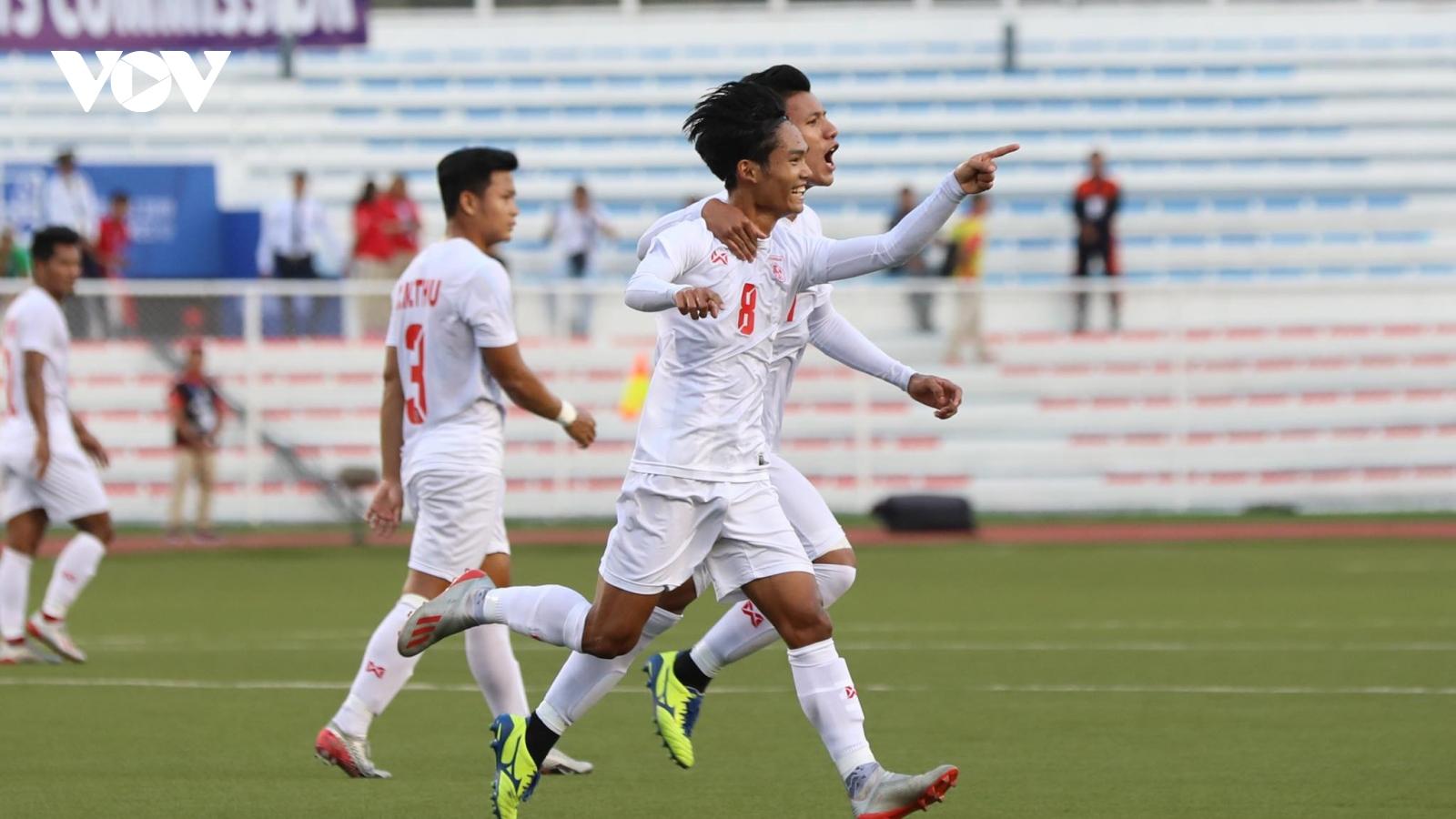 """U23 Việt Nam đối đầu những cầu thủ """"quen mặt"""" của U23 Myanmar"""
