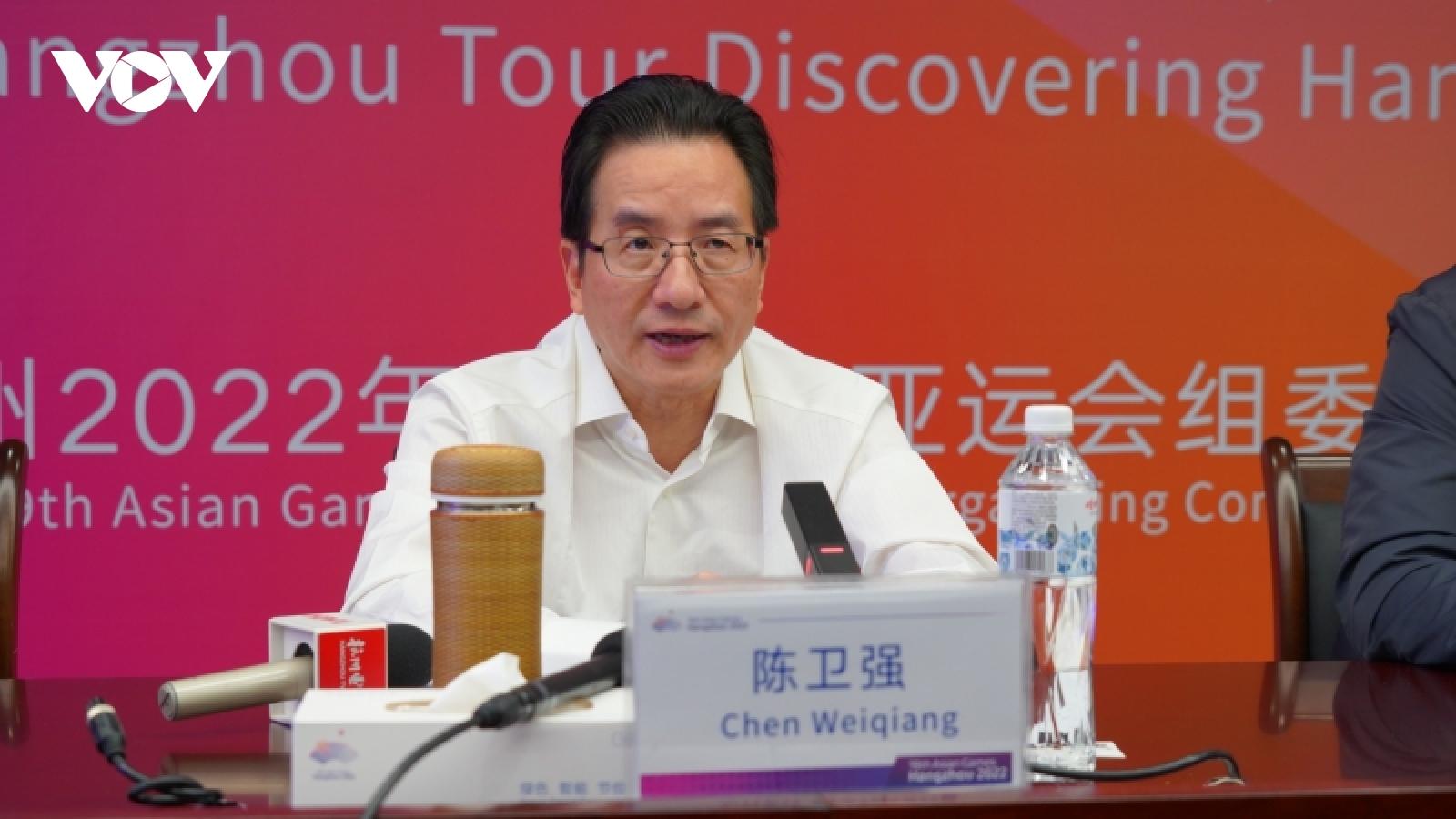 BTC Asian Games Hangzhou 2022 hy vọng có thể đón khá giả nước ngoài đến cổ vũ