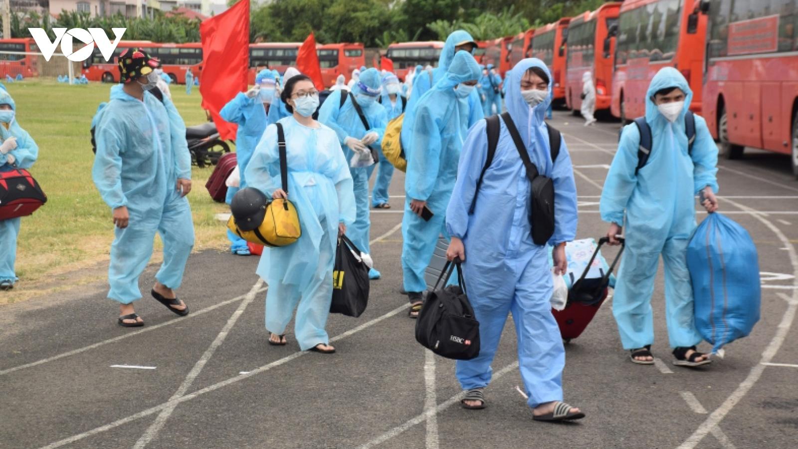 Hành trình Phú Yên đón hơn 17.000 công dân về quê tránh dịch