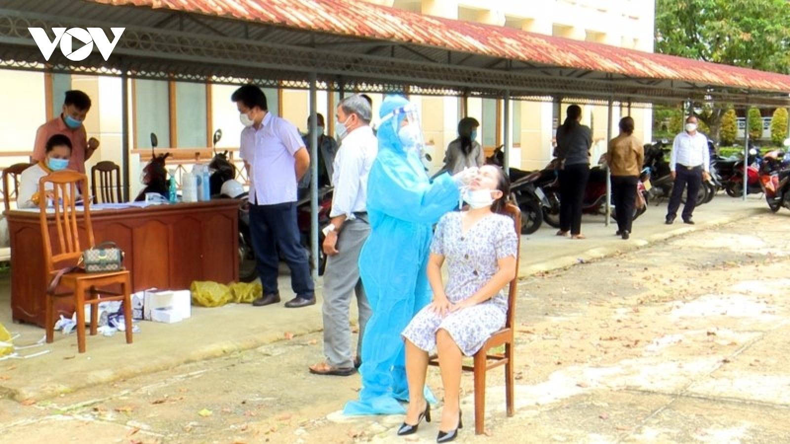 Huyện Phước Sơn, Quảng Nam ghi nhận nhiều ca mắc Covid-19
