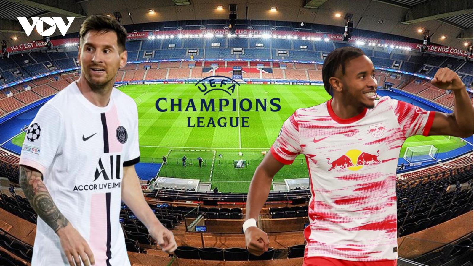 PSG - RB Leipzig: Sự trở lại của Messi