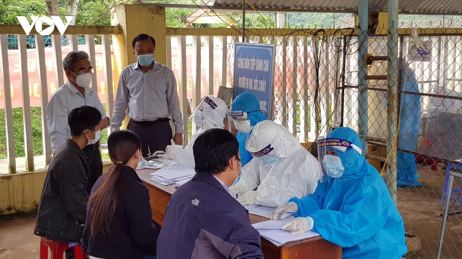 Quảng Nam, Lai Châu ghi nhận thêm nhiều ca mắc Covid-19