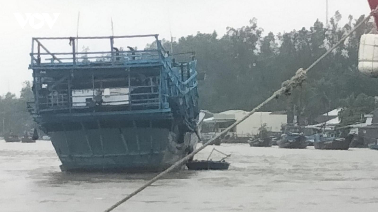 3 ngư dân mất tích ở cửa biển Sa Cần