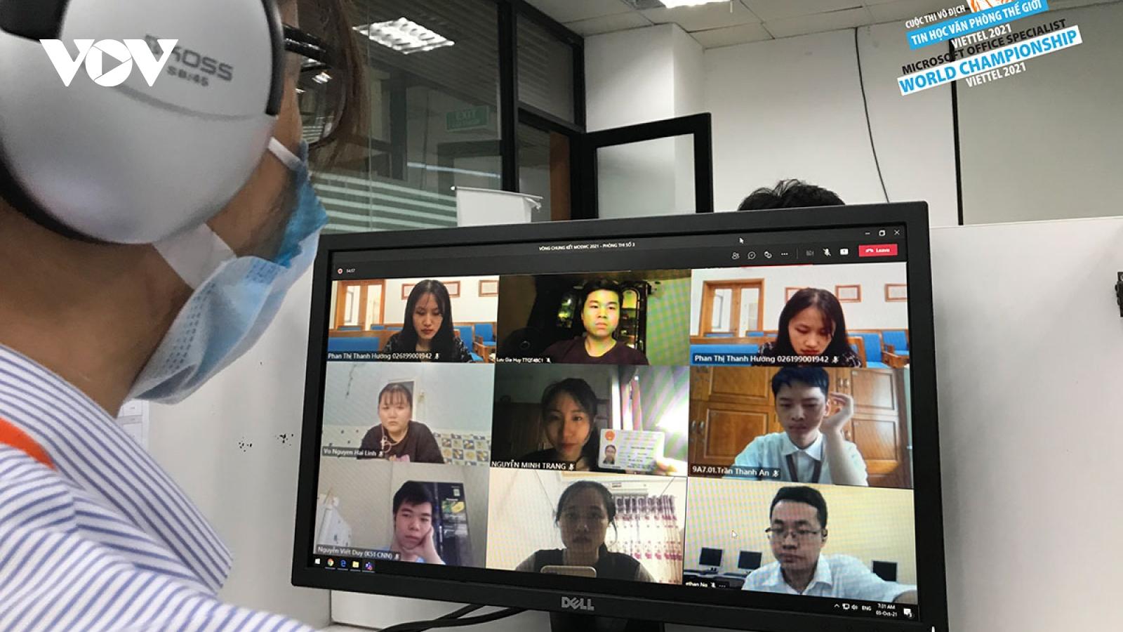120 thí sinh lọt Vòng chung kết quốc gia cuộc thi Vô địch Tin học Văn phòng Thế giới