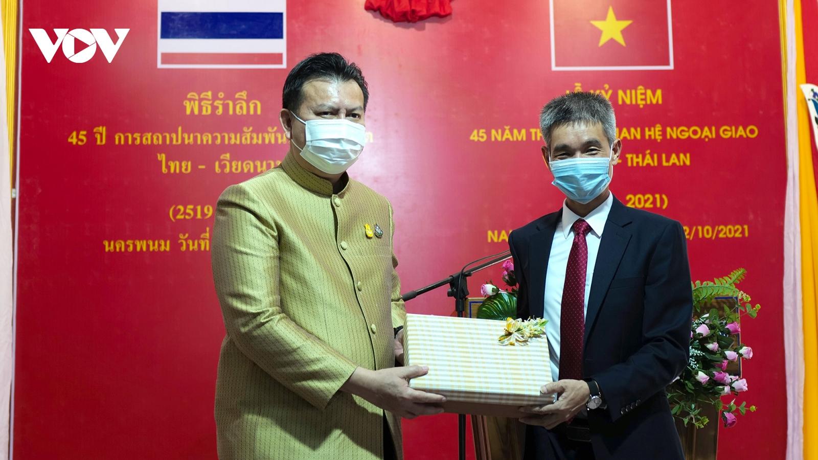 Tiếp tục phát triển quan hệ hợp tác hữu nghị Việt Nam - Thái Lan