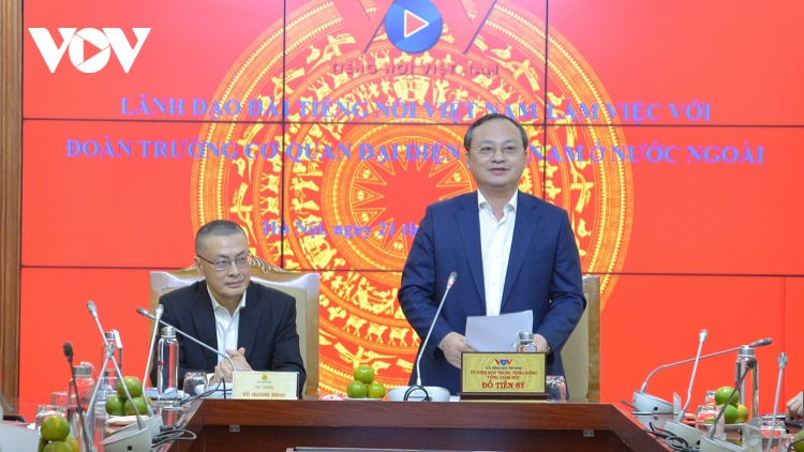 Các trưởng cơ quan đại diện Việt Nam tại nước ngoài muốn hợp tác chặt chẽ hơn nữa với VOV