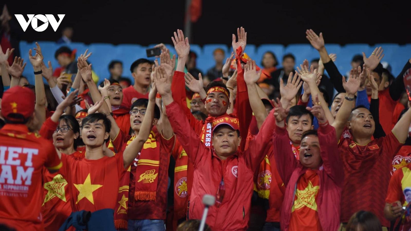 Chính thức: Sân Mỹ Đình được đón 12.000 khán giả khi ĐT Việt Nam gặp ĐT Nhật Bản