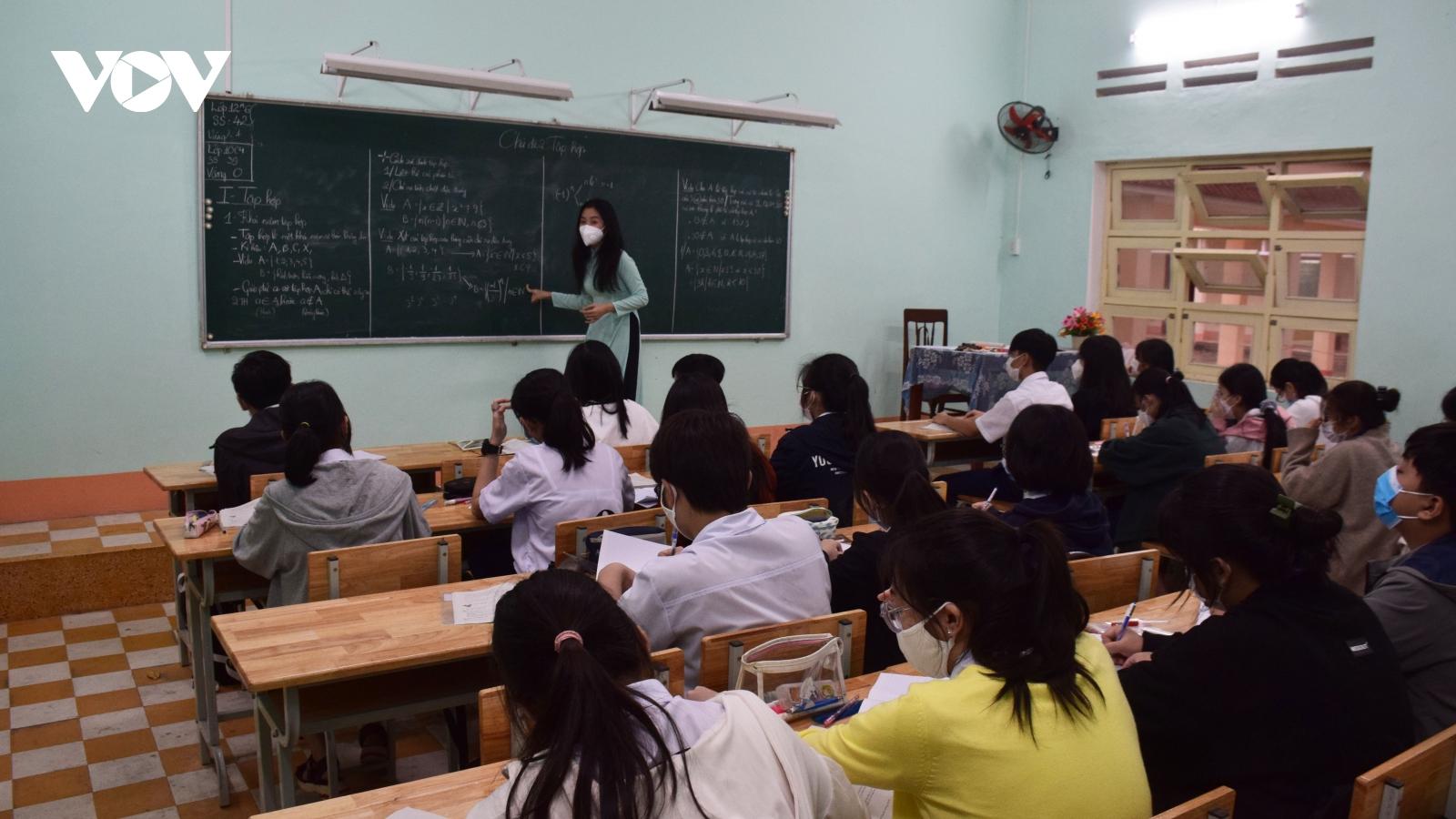 Bình Định chủ động dạy và học linh hoạt
