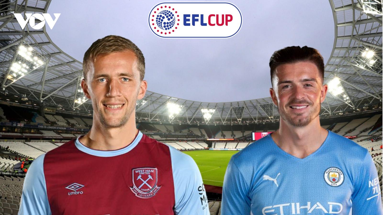 Dự đoán kết quả, đội hình xuất phát trận West Ham - Man City