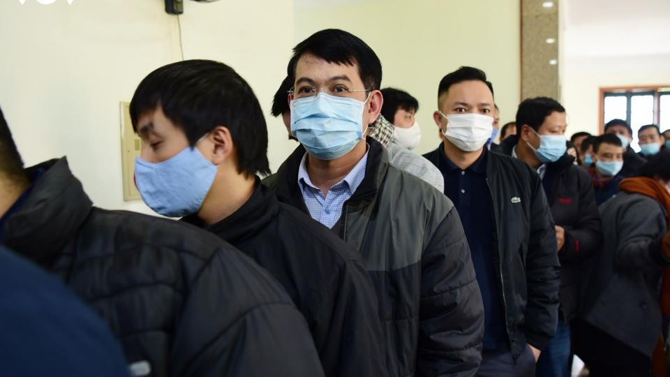 350 nhà báo được xét nghiệm Covid-19 chuẩn bị tác nghiệp tại Đại hội Đảng XIII
