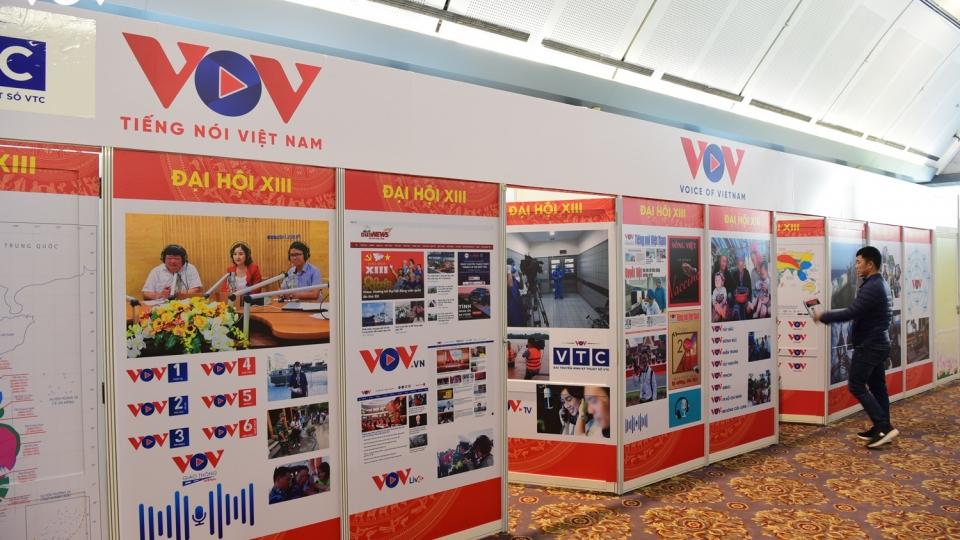 """""""Khu làm việc phục vụ Đại hội Đảng XIII của VOV hoàn thành sớm và ấn tượng"""""""