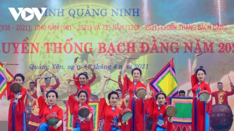 Festival marks 733rd anniversary of Vietnamese victory at Bach Dang river
