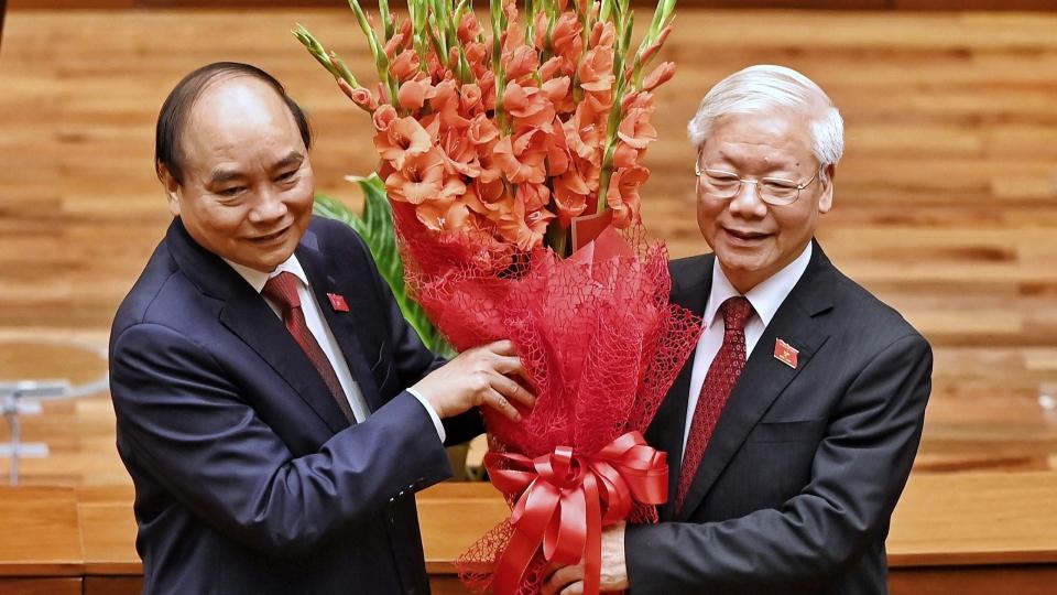 Toàn cảnh Lễ tuyên thệ nhậm chức của Chủ tịch nước Nguyễn Xuân Phúc