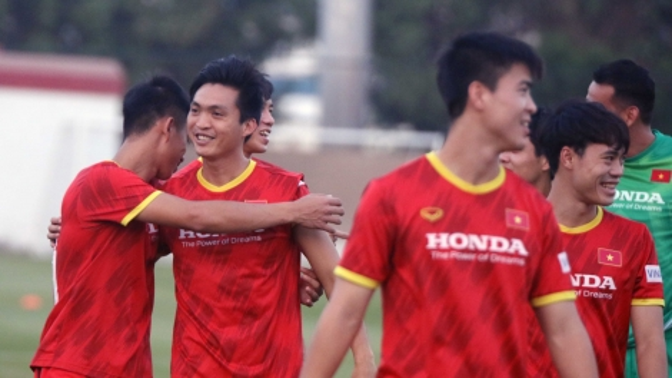 Tuấn Anh, Văn Toàn báo tin vui trước trận ĐT Việt Nam gặp Malaysia