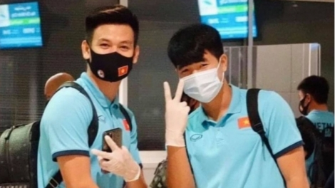 Coach Park Hang-seo and players return to Vietnam from UAE