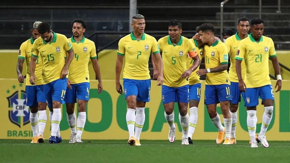 Bảng xếp hạng vòng loại World Cup 2022 khu vực Nam Mỹ: Brazil áp đảo, Argentina gặp khó