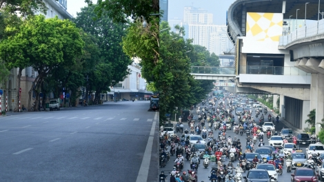 First day of social distancing rules in Hanoi sees mixed reaction