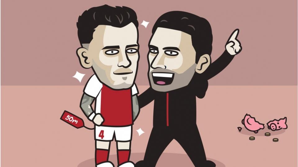 Biếm hoạ 24h: Đẳng cấp khác biệt giữa MU và Arsenal trên thị trường chuyển nhượng