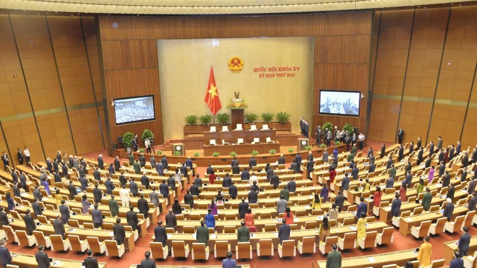 Kỳ họp thứ 2, Quốc hội khóa XV
