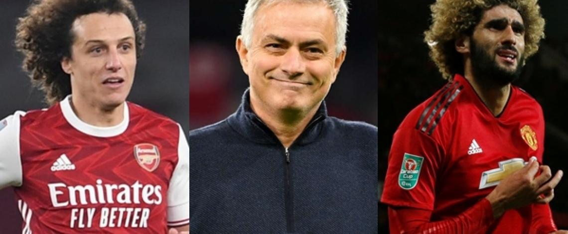 Đội hình học trò cũ có thể theo chân Jose Mourinho tới AS Roma