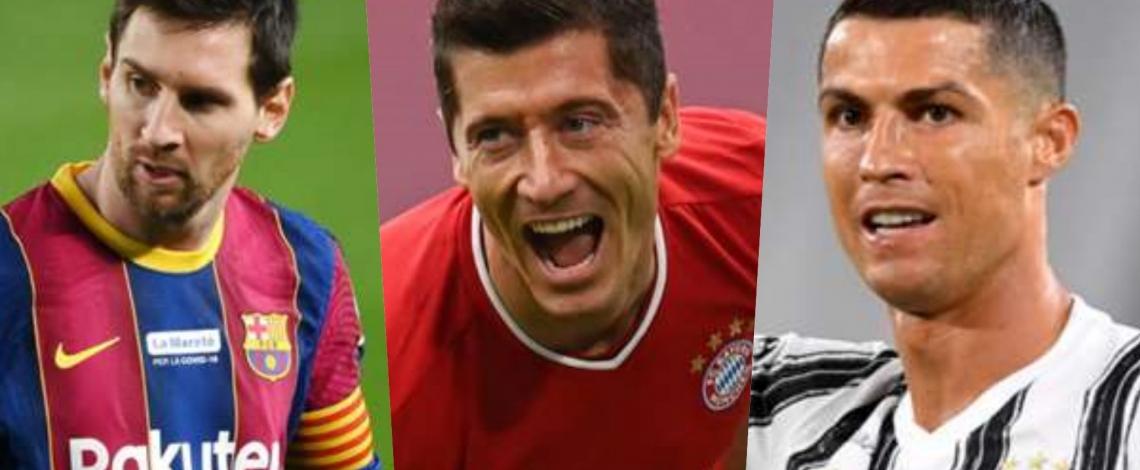 Cuộc đua Chiếc giày Vàng châu Âu: Ronaldo và Messi hụt hơi trước Lewandowski
