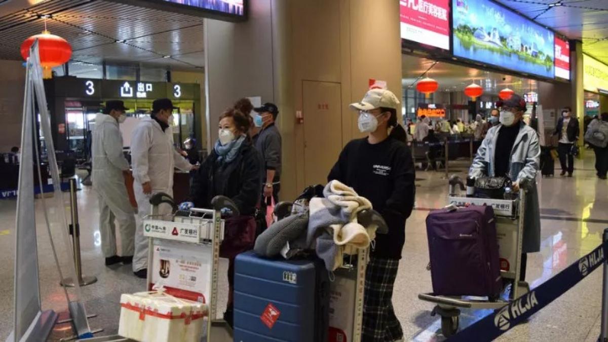 Dự kiến, có khoảng 90 triệu người Trung Quốc đi du lịch trong dịp nghỉ lễ 1/5. Ảnh: Reuters.