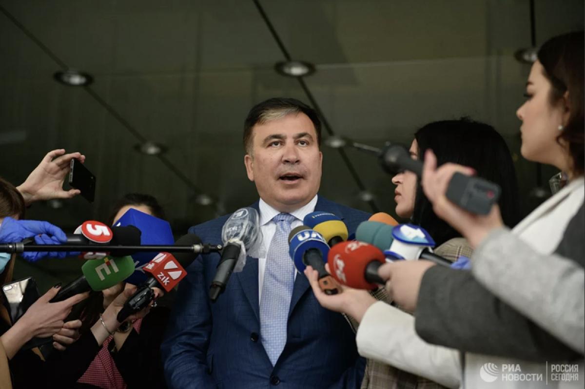Ông Mikhail Saakashvili đã chấp thuận làm Phó thủ tướng Chính phủ Ukraine. Ảnh: Ria Novosti