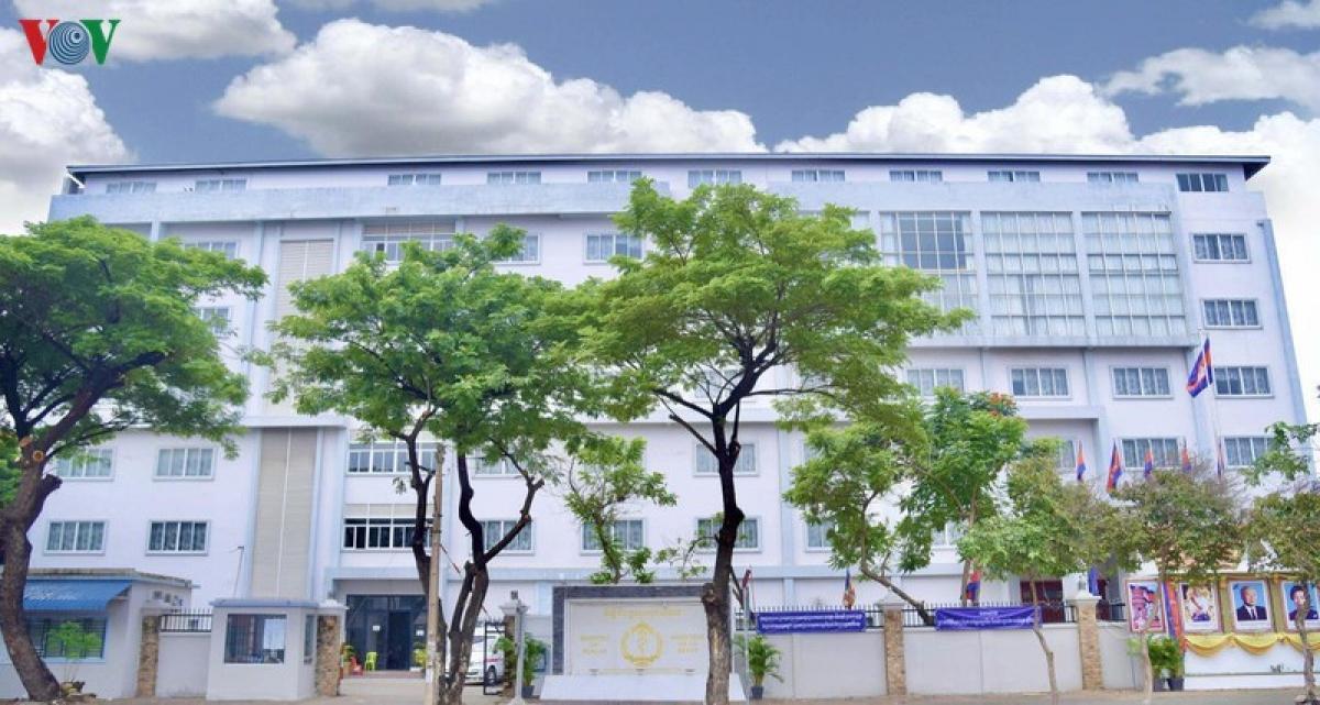 Trụ sở Bộ Y tế Campuchia.