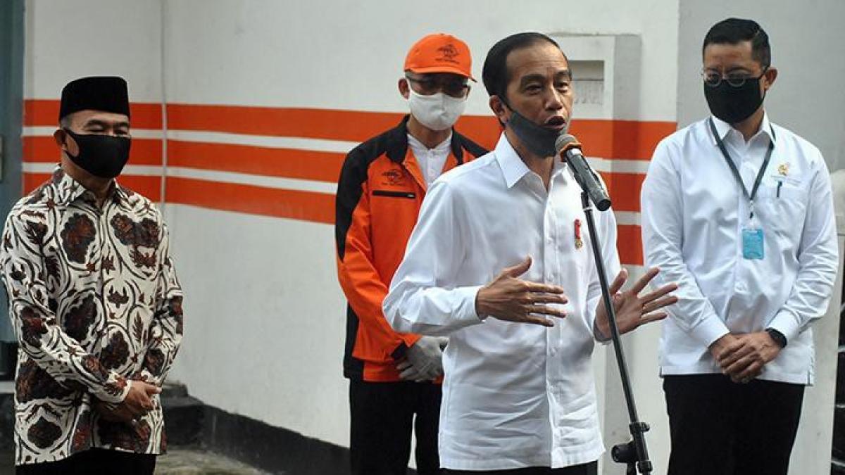"""Tổng thống Indonesia, Joko Widodo nói về cuộc sống """"bình thường mới"""" thời Covid-19. Nguồn: Tempo"""