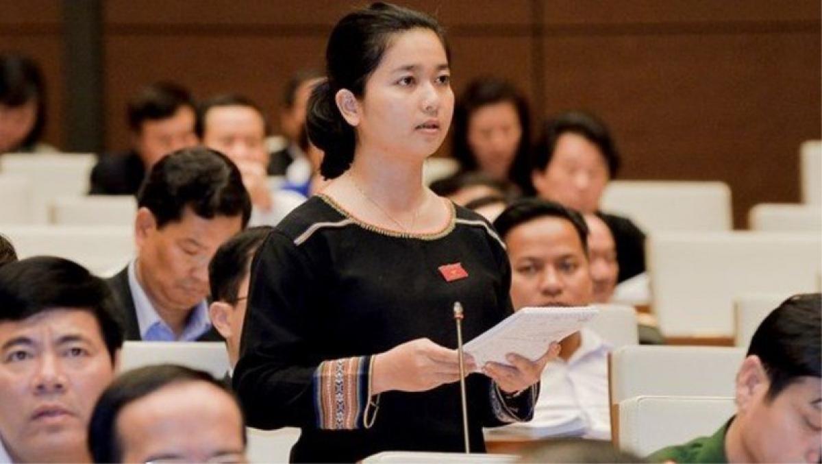 Đại biểu Ksor Phước Hà (đoàn Gia Lai)