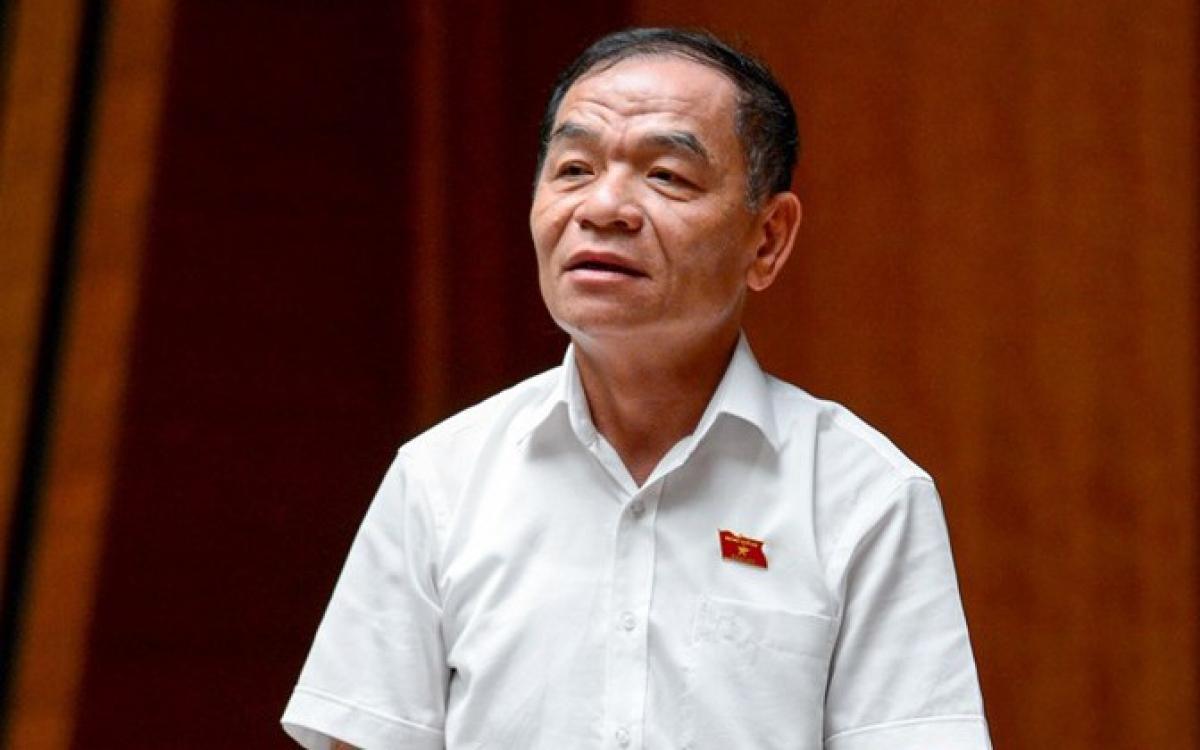 Ông Lê Thanh Vân (đại biểu Quốc hội đoàn Cà Mau).