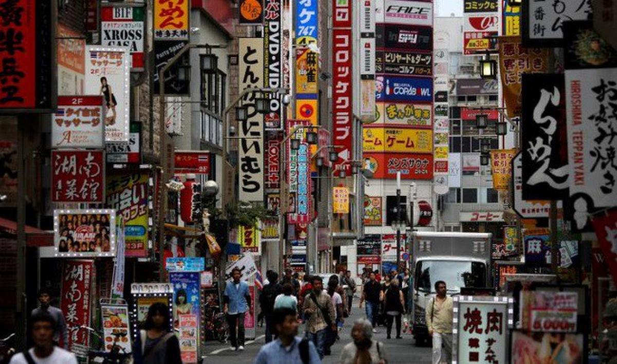 Nhật Bản rơi vào suy thoái trầm trọng nhất kể từ sau chiến tranh. (Ảnh: Reuters)