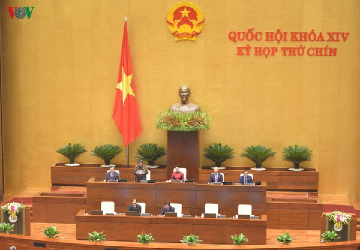 Phiên Khai mạc Kỳ họp thứ 9 Quốc hội khóa XIV