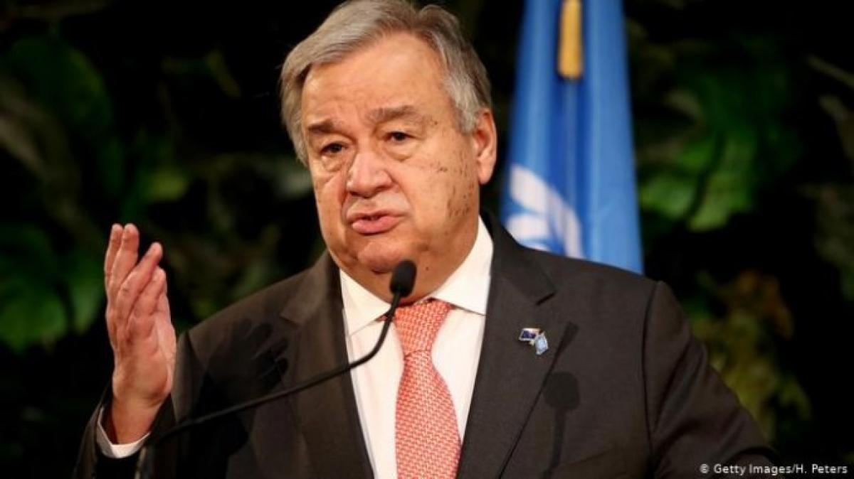 Tổng Thư ký Liên Hợp Quốc Antonio Guterres. Ảnh: Getty