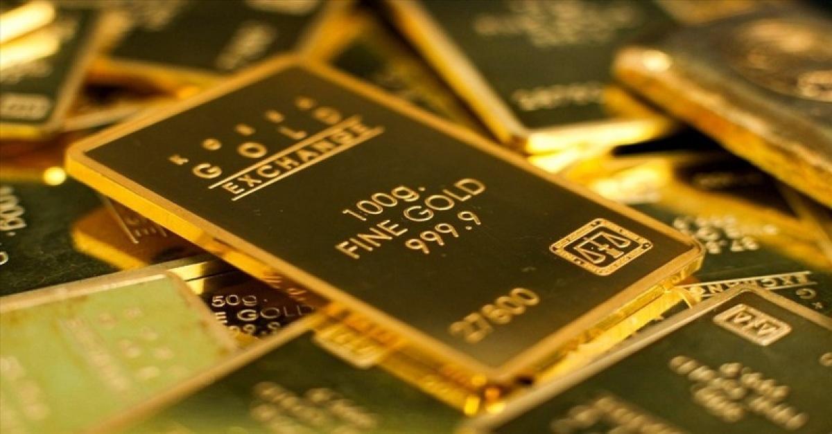Đầu phiên giao dịch sáng 15/5, giá vàng trong nước tăng mạnh từ 120.000 – 200.000 đồng/lượng, giá vàng thế giới cũng tăng tới 20,8 USD/oz. (Ảnh minh họa: KT)
